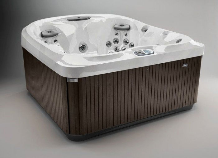 J435 Whirlpool Silver-Wood mit Stereo System 9446409